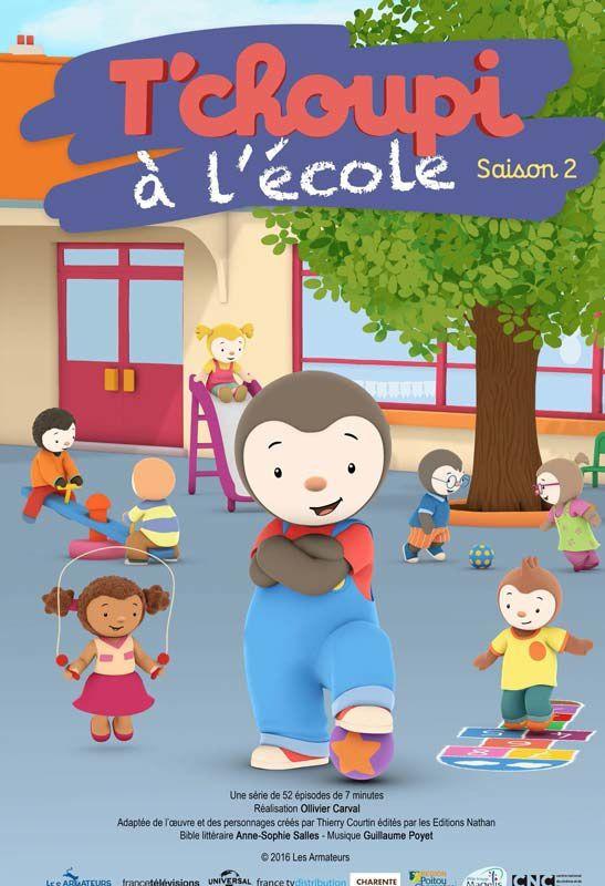 """Une Nouvelle Saison De """"T'Choupi À L'École"""" Diffusée À La intérieur Tchoupi A L'Ecole Saison 1 Telechargement"""