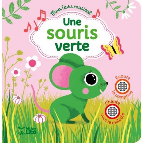 Une Souris Verte - Livres À Écouter - Livres 0-3 Ans avec Une Souri Vert