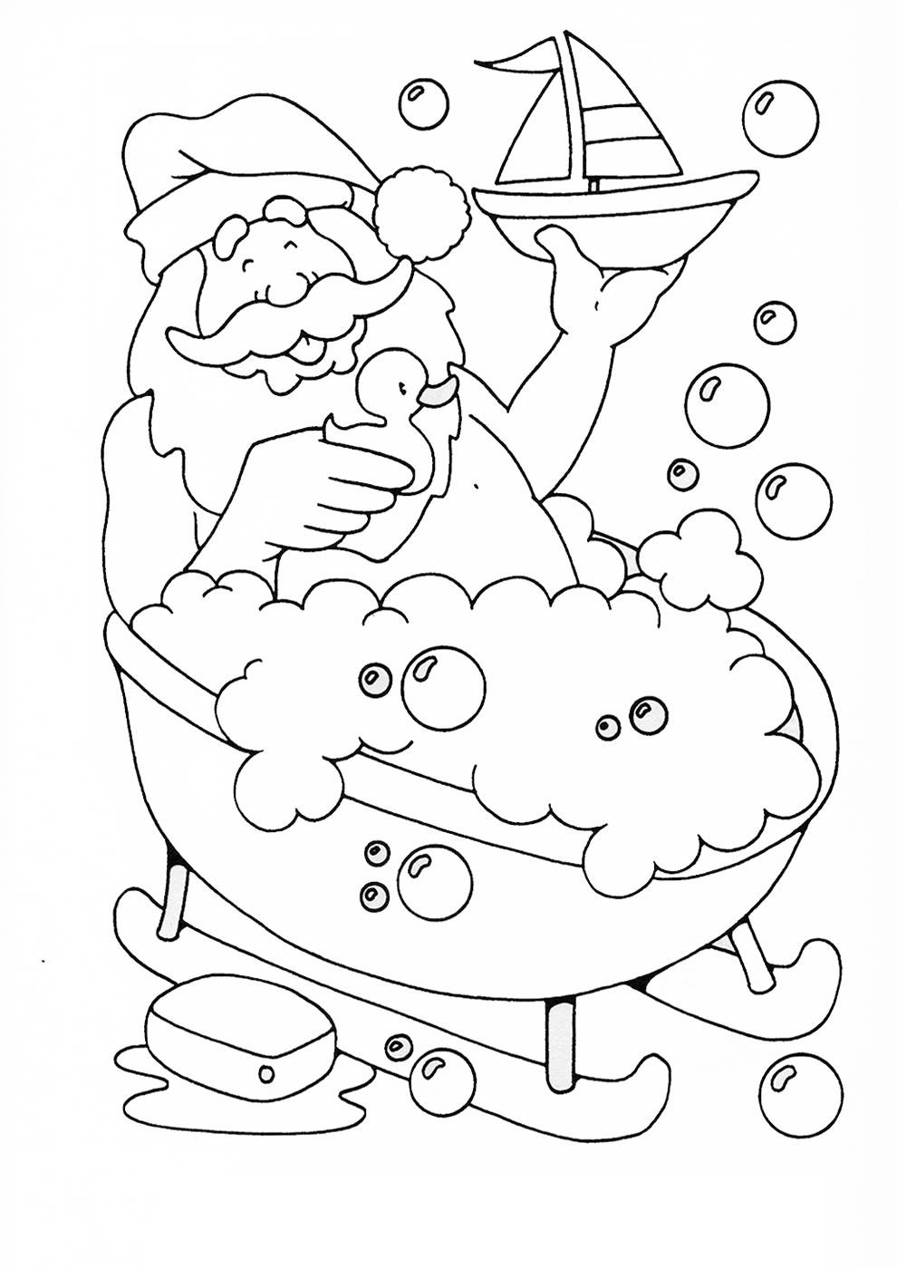 Unique Bonnet Du Pere Noel Coloriage | Haut Coloriage Hd tout Coloriage Père Noel Gratuit À Imprimer