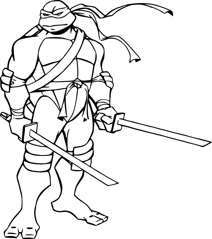Unique Dessin A Coloriage Tortue Ninja – Mademoiselleosaki pour Coloriage Tortue Ninja Michelangelo