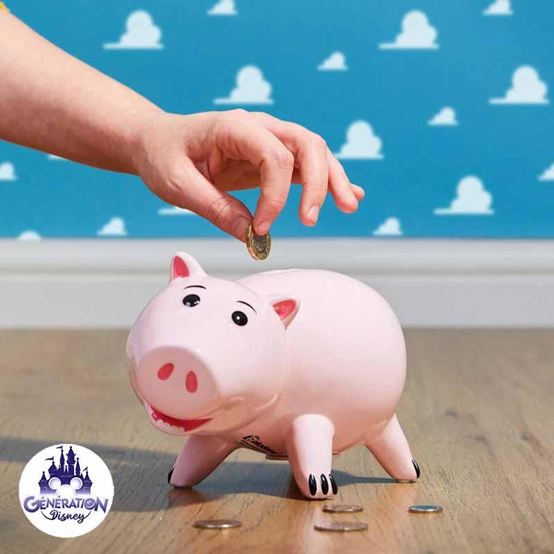 Véritable Tirelire Du Personnage Bayonne Dans Toy Story concernant Cochon Toy Story