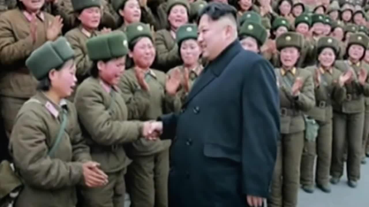 Vidéo - Corée Du Nord : Les Femmes En Première Ligne De pour Les Nounous Du Nord