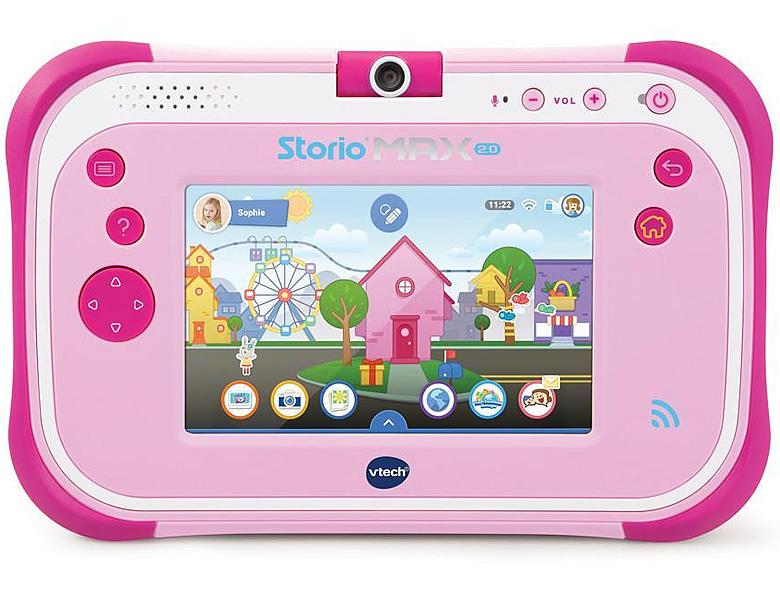 Vtech Storio Max 2.0 Pink | Lerncomputer tout Storio