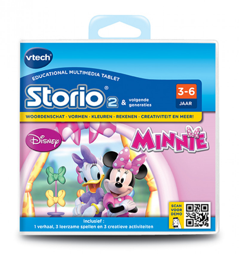 Vtech Storio2 Game Minnie Mouse | Vtech Speelgoed pour Storio