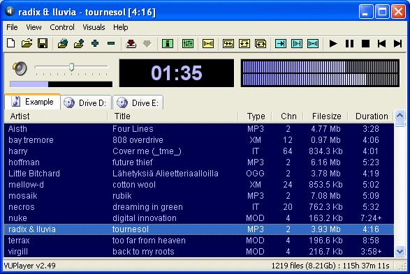 Vuplayer : Un Lecteur Audio Gratuit Pour Windows concernant De T?L?Chargement De Mp3 D?Charge Desenhos