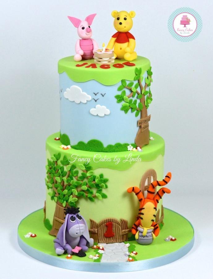 Winnie The Pooh Cake Ideas / Winnie The Pooh Themed Cakes tout Pooh Gateau