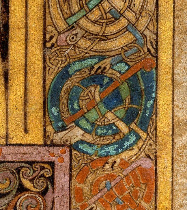 Working Practice - The Book Of Kells In 2019 | Book Of concernant Script In The Book Of Kells