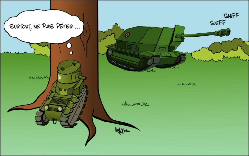 Wot Plein D'Humour! - Hors-Sujet - World Of Tanks Blitz intérieur Dessin De Tank