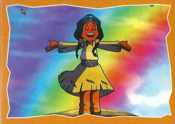 Yakari - Sticker Album - Blue Ocean - Allemagne - 2001 Dessins à Yakari Dessin Animé Gratuit