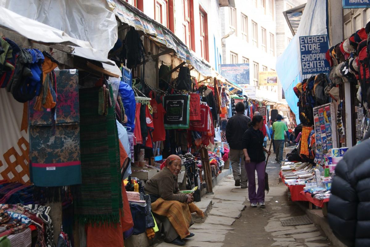Zdjęcia: Namche Bazar, Himalaje, Namche, Nepal à Lutin Bazar Po?Sie