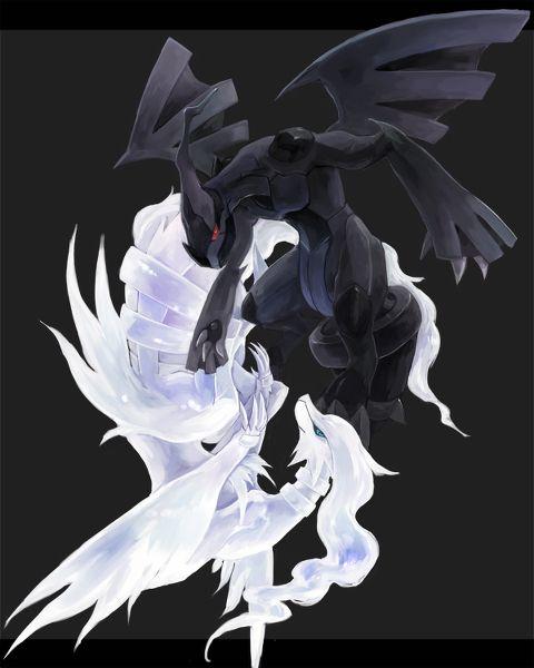 Zekrom (Yang) Reshiram (Ying) | Pokemon Réaliste, Dessin à Dessin Pokemon Reshiram