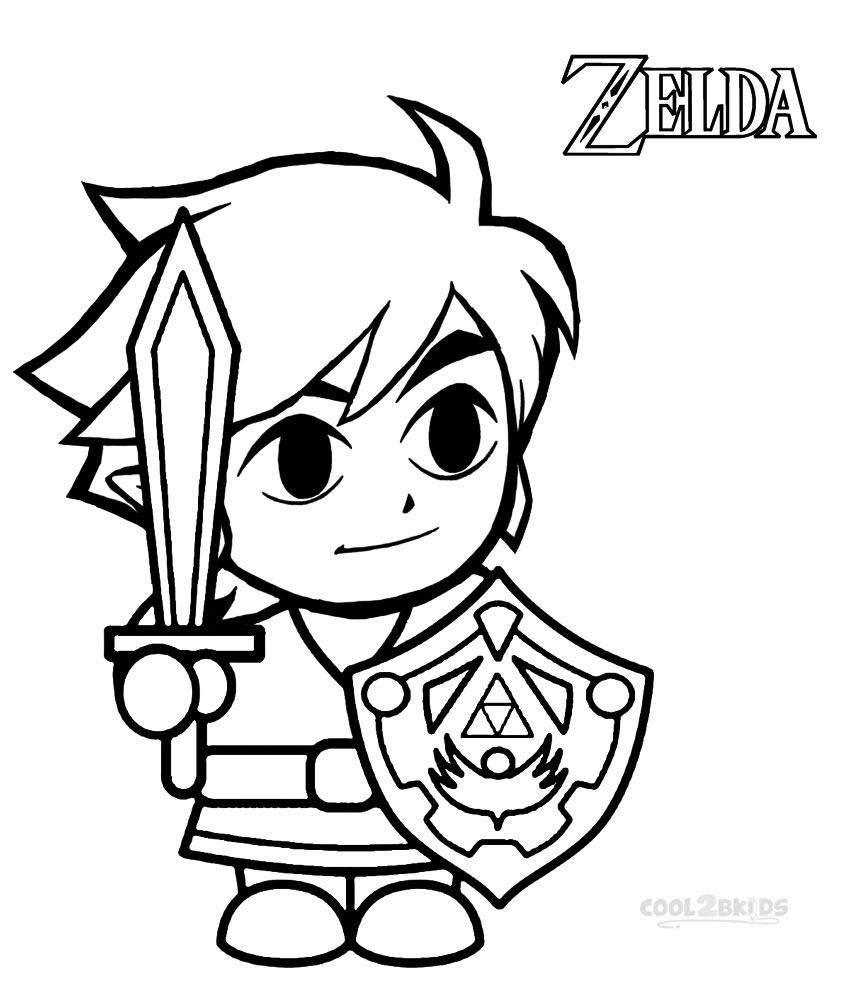 Zelda Breath Of The Wild Pages Coloring Pages encequiconcerne Coloriage Zelda Breath Of The Wild