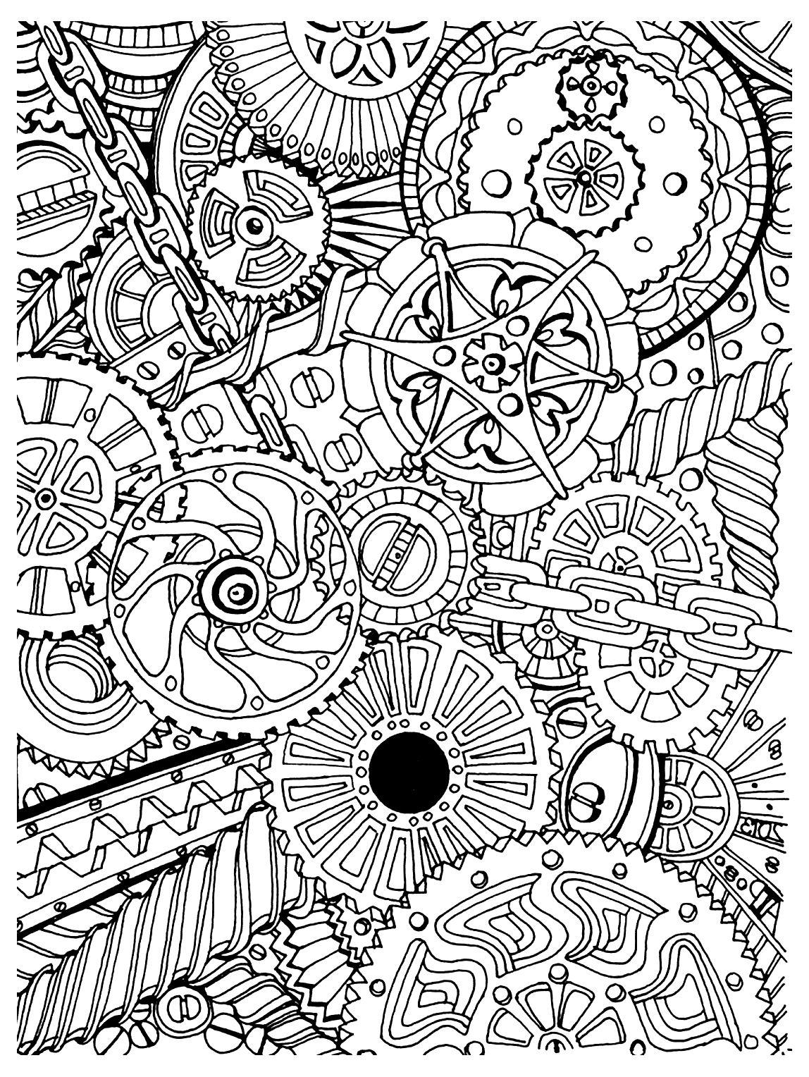 Zen Anti Stress Mecanismes A Imprimer - Anti-Stress & Art encequiconcerne Coloriage Zen