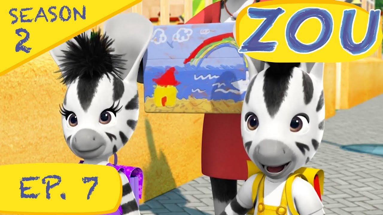 Zou | Zou And The Best Present (S2 Ep.7) | Full Episodes intérieur Image Elzee